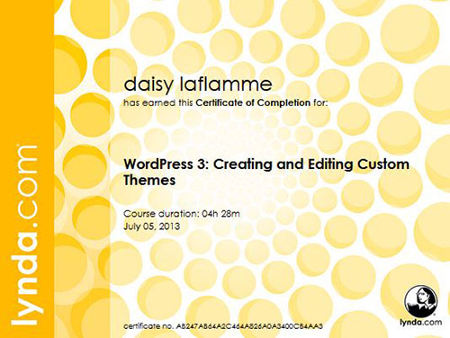 WordPress 3: Creating and Editing Custom Themes