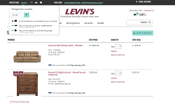 Based on specific mockups, implemented a responsive UI of a new multi-page checkout feature enabling web site users to select product delivery preferences on checkout.